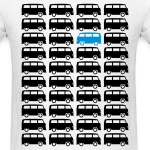 Bulli Bus - Drive different (2c + your Text) T-Shirts - Men's T-Shirt