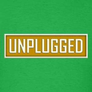 Unplugged - Men's T-Shirt