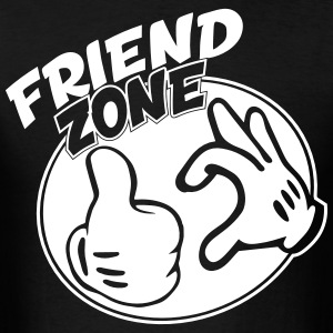 Friendzone - Men's T-Shirt