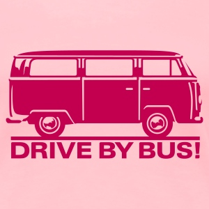 T2 - Drive by Bus T-Shirts - Women's Premium T-Shirt