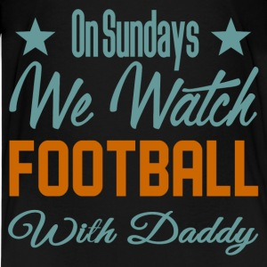 watch football 3.png Kids' Shirts - Kids' Premium T-Shirt