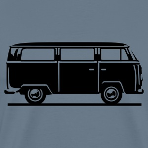 T2 - Drive by Bus (+ your Text) T-Shirts - Men's Premium T-Shirt