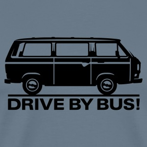 T3 - Drive by Bus T-Shirts - Men's Premium T-Shirt
