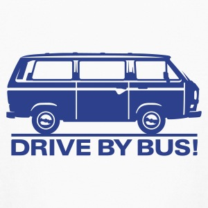 T3 - Drive by Bus Kids' Shirts - Kids' Long Sleeve T-Shirt