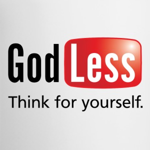God Less White Mug - Contrast Coffee Mug