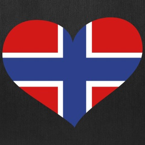 Norway Heart; Love Norway Bags & backpacks - Tote Bag