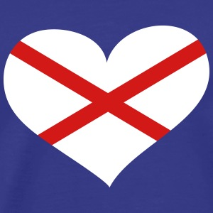 Northern Ireland Heart; Love Northern Ireland T-Shirts - Men's Premium T-Shirt
