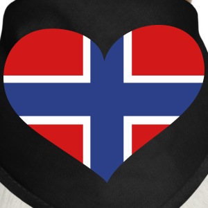 Norway Heart; Love Norway Other - Dog Bandana