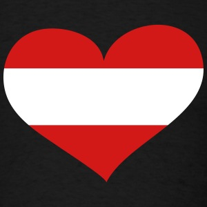Austria Heart; Love Austria T-Shirts - Men's T-Shirt