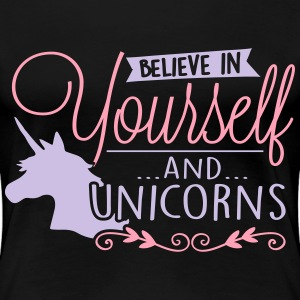 Believe in unicorns T-Shirts - Women's Premium T-Shirt