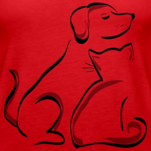 Dog and Cat Tanks - Women's Premium Tank Top