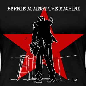 BERNIE AGAINST THE MACHINE T-Shirts - Women's Premium T-Shirt