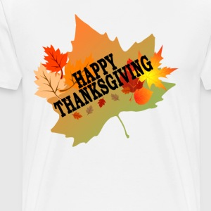 happy_thanksgiving_tshirt_ - Men's Premium T-Shirt