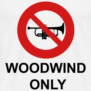 Woodwind Only - Men's Premium T-Shirt