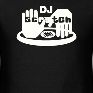 dj scratch - Men's T-Shirt