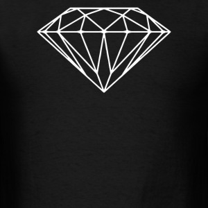 DIAMOND STENCIL  - Men's T-Shirt