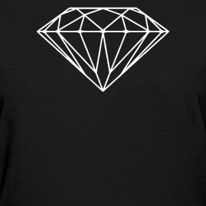 DIAMOND STENCIL  - Women's T-Shirt