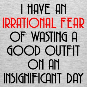 IRRATIONAL FEAR Sportswear - Men's Premium Tank