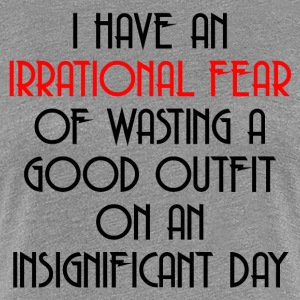 IRRATIONAL FEAR T-Shirts - Women's Premium T-Shirt