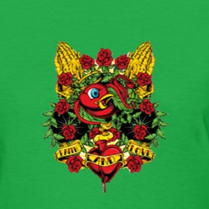 Birdy rose love - Women's T-Shirt