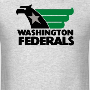 LARGE WASHINGTON FEDERALS - Men's T-Shirt