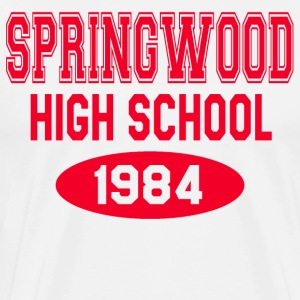 A Nightmare On Elm Street - Springwood High School T-Shirts - Men's Premium T-Shirt