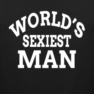 WORLD'S SEXIEST MAN Sportswear - Men's Premium Tank