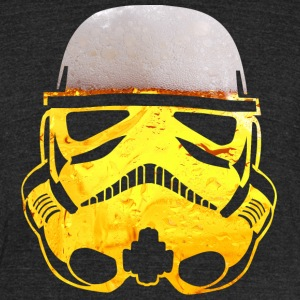 Beer Trooper TRI-BLEND UNISEX - Unisex Tri-Blend T-Shirt by American Apparel
