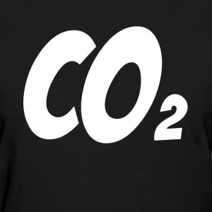 CARBON DIOXIDE CO2 CHEMICAL ELEMENT T-Shirts - Women's T-Shirt