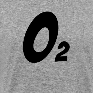 OXYGEN O2 CHEMICAL ELEMENT T-Shirts - Men's Premium T-Shirt