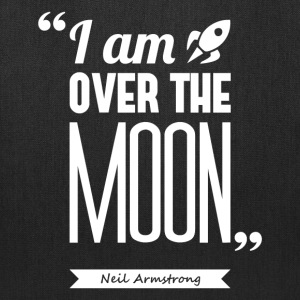 Armstrong's moon | Tote bag quote - Tote Bag