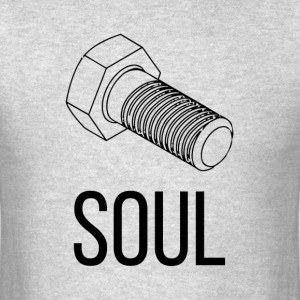 NUT AND BOLT SOUL MATE MAN WOMAN COUPLE T-Shirts - Men's T-Shirt