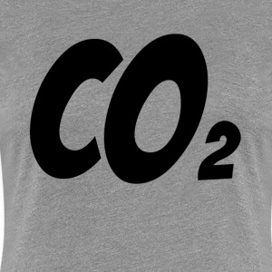 CARBON DIOXIDE CO2 CHEMICAL ELEMENT T-Shirts - Women's Premium T-Shirt