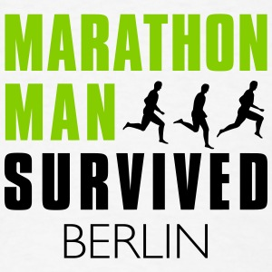 woman_survived_berlin - Men's T-Shirt