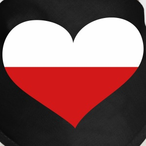 Poland Heart; Love Poland Other - Dog Bandana