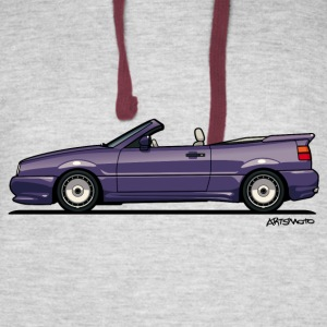 Corrado G60 Zender Cabrio Convertible Conversion Hoodies - Colorblock Hoodie