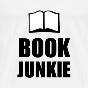 Book Junkie - Men's Premium T-Shirt