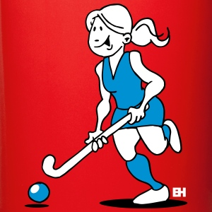 Field  hockey girl Mugs & Drinkware - Full Color Mug