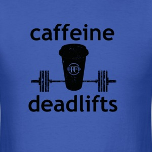 Caffeine & Deadlifts Color - Men's T-Shirt