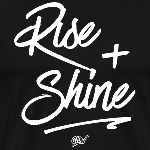 Rise + Shine - Men's Premium T-Shirt