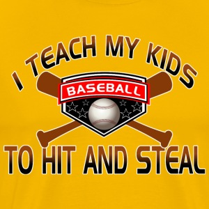 Funny Parents Baseball Shirts - Men's Premium T-Shirt