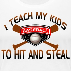 Funny Baseball Shirts for Mom - Women's Premium T-Shirt