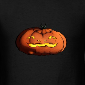 Spooky Pumpkin Tee - Men's T-Shirt