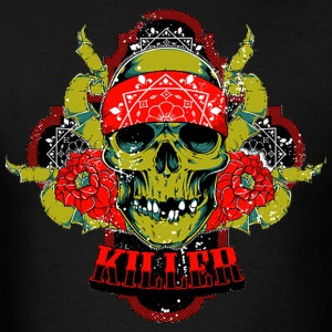 Gangster Killer bandana - Men's T-Shirt
