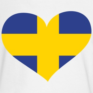 Sweden Heart; Love Sweden Long Sleeve Shirts - Men's Long Sleeve T-Shirt