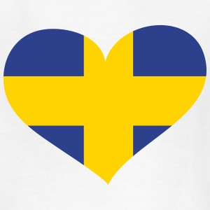 Sweden Heart; Love Sweden Kids' Shirts - Kids' T-Shirt