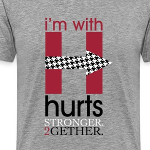 I'm with Hurts - Men's Premium T-Shirt