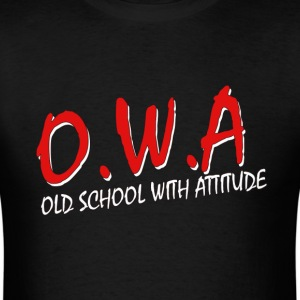 Old School With Attitude   DBS - Men's T-Shirt