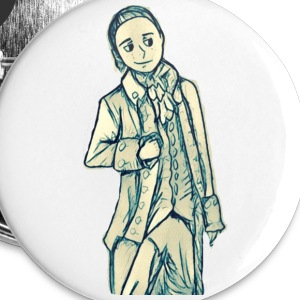 John Laurens Button - Small Buttons