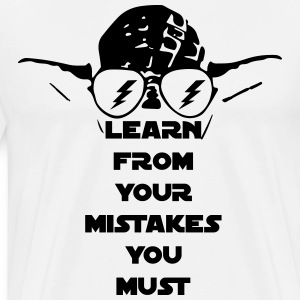 LEARN FROM YOUR MISTAKES T-Shirts - Men's Premium T-Shirt